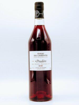aperitif pineau des charentes rose de pradiere 75cl 1 scaled