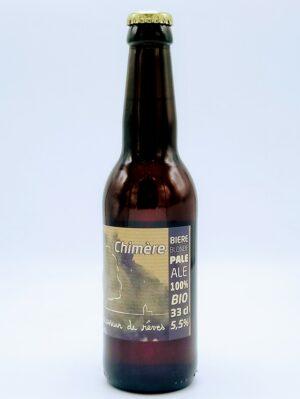 biere blonde bio chimere normandie brasseur de reves 33cl 1 scaled