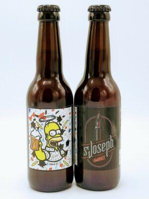 biere normandie LH lehavre saint joseph ambree 33cl david karsenty socult r°v° 1 scaled