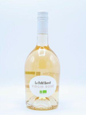 boisson sans alcool cepage grenache cinsault vin sans alcool rose virgin petit beret 1 scaled