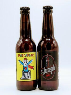 brasserie biere saint joseph blonde triple mascarade 2b 33cl