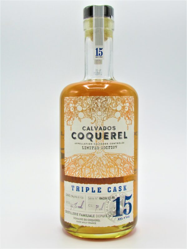calvados triple cask finish 15 ans years domaine du coquerel 70cl 2 scaled