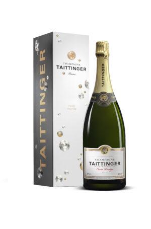 champagne Taittinger Cuvee Prestige etui magnum 150cl 1 scaled