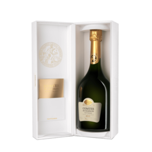 champagne brut blanc de blancs grands crus comte de champagne taittinger 2008 75cl etui v
