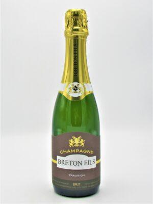 Champagne Récoltant Breton Fils Brut 37,5cl