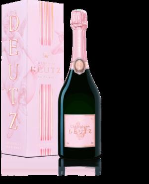 champagne brut rose deutz 75cl