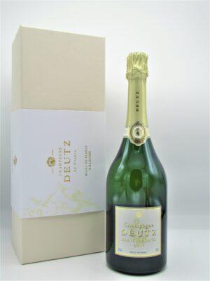 champagne deutz ay brut blanc de blanc 75cl coffret  scaled