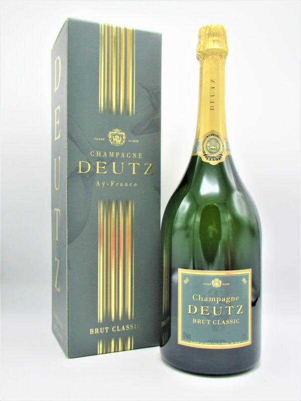champagne deutz ay brut classique magnum 150cl coffret  scaled