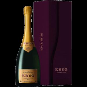 champagne krug grande cuvee coffret luxe 2