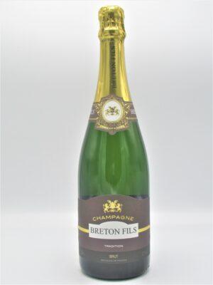 champagne recoltant brut breton fils tradition 75cl scaled