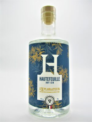 dry gin explorateur distillerie d hautefeuille picardie france 70cl 42°  scaled