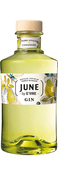 gin poire cardamone gvine june 70cl 1