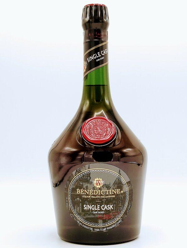 liqueur benedictine bb brandy single cask edition 1 litre 43° 1 scaled