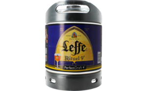 mini fut biere leffe blonde rituel 6 litres perfect draft