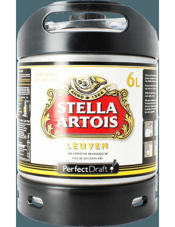 mini fut stella artois 6L 5.2° perfect draft 2