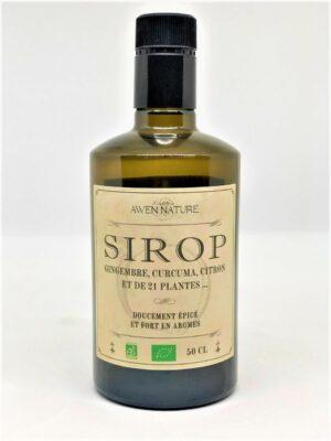 Sirop Bio Awen Nature 50cl